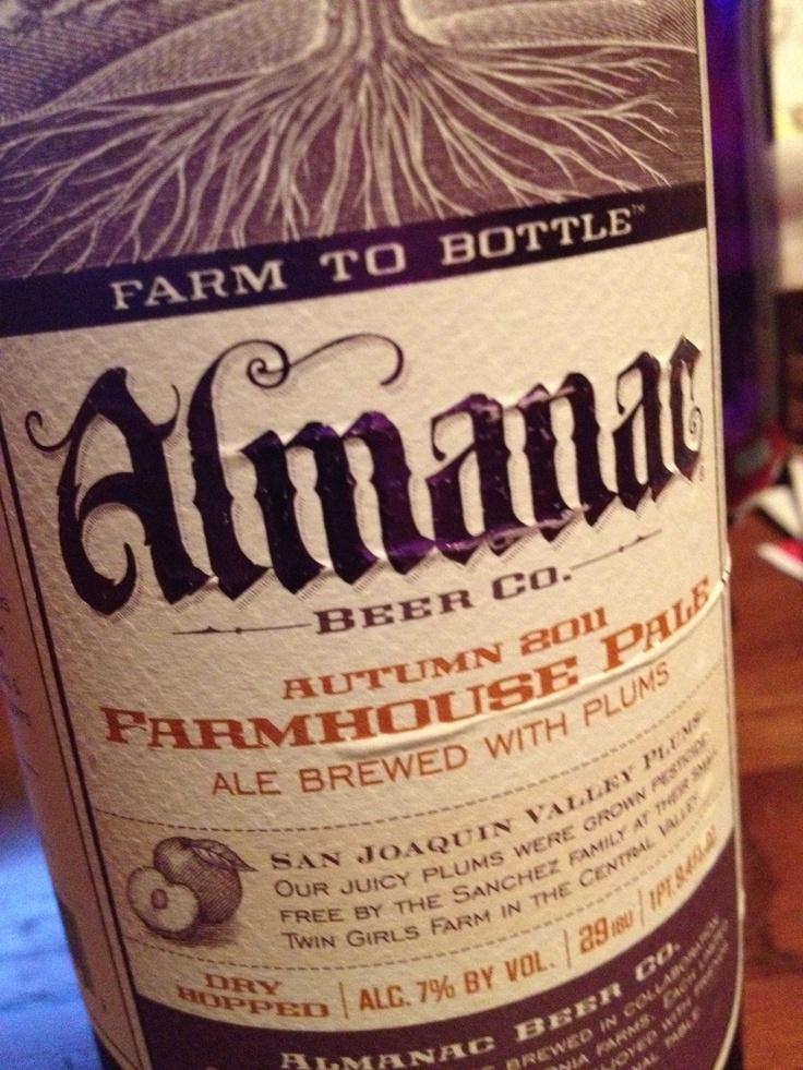 Almanac Brewing - Autumn 2011 Farmhouse Pale