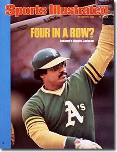 October 6, 1975 - Reggie Jackson, Mr. October. Made World Series history.