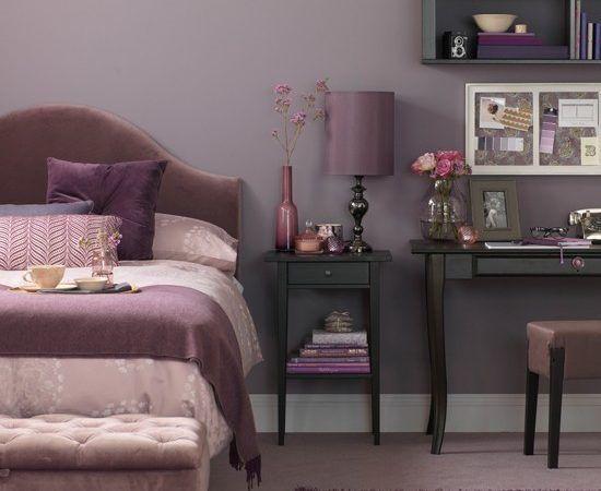 Lila Schlafzimmer Ideen