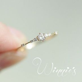 Details über 14K vergoldet Zirkonia Thin Ring Silber Japan Style Frauen Urban Chic