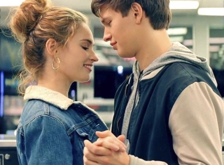 Baby Driver (2017) Lily James and Ansel Elgort