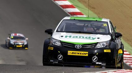 BTCC  Great news that Simon Belcher will be returning to the Dunlop MSA BTCC for his second season in 2015. He will be with the Handy Motorsport team, driving the Toyota Avensis.  Good luck Simon, i hope everything goes well for you.  www.sgfalloys.co.uk