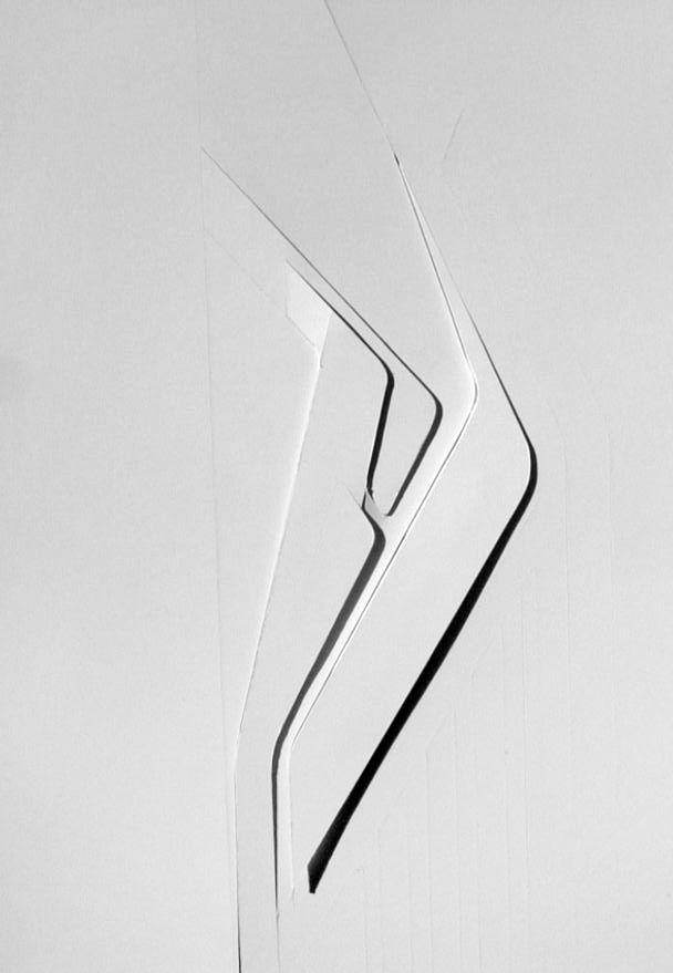 Zaha Hadid (1950 – 2016) | Azabu-BMW Showroom | Leipzig, Germany | 2003 | http://www.zaha-hadid.com