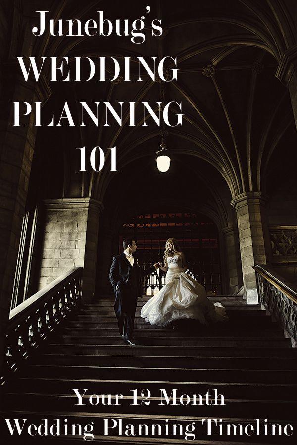 Junebug's Wedding Planning 101 - Christopher Confero's 12 Month Wedding Planning Timeline | via junebugweddings.com