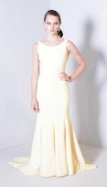 LD Dress with draped back