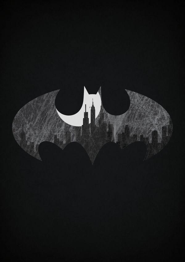 Superhero Sign Posters Batman