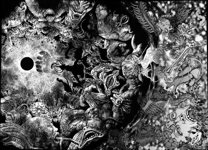 The amazing artwork of Berserk   Berserk, Artwork, Cool artwork