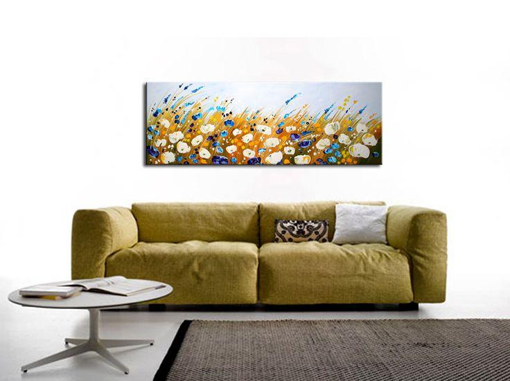 Moderne schilderijen Schilderij woonkamer