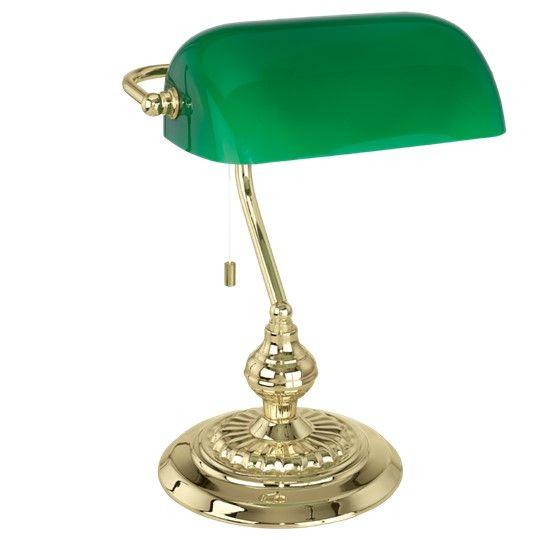 Banker Bord Mässing/Grön
