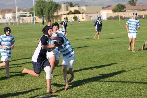 U11/U12 Rugby Boys Impress  
