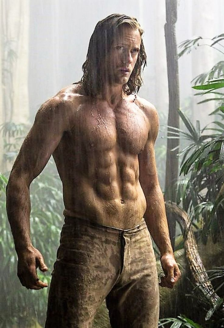 See the first photo of Alexander Skarsgard as an insanely ripped Tarzan for the upcoming flick The Legend of Tarzan - photo