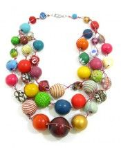 Multi-color Betty Boo 3 Strand