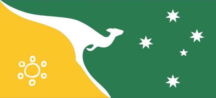 New Australian Flag proposal (2009) _ DGaiden
