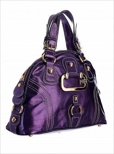 purple handbag LV