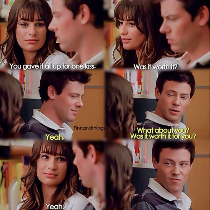 Glee Rachel Berry and Finn Hudson