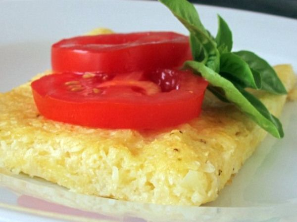 Cauliflower patties... that sounds so good right now