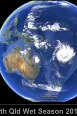 Satellite cyclone view