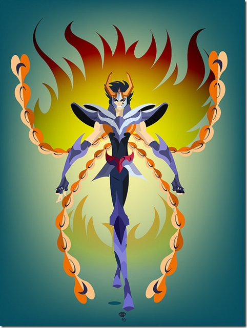 My favorite bronze saint: Phoenix Ikki
