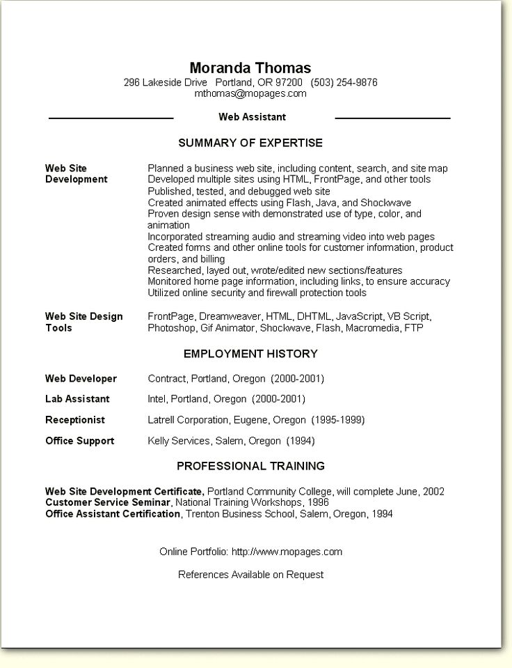 Image result for skill based resume template