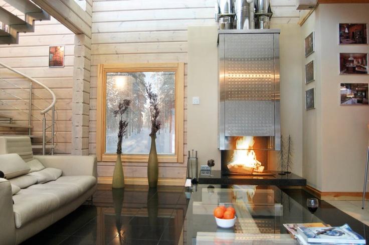Fotogaléria, Foto, Fínske zrubové domy, exteriér, interiér, fotografie, KONTIO