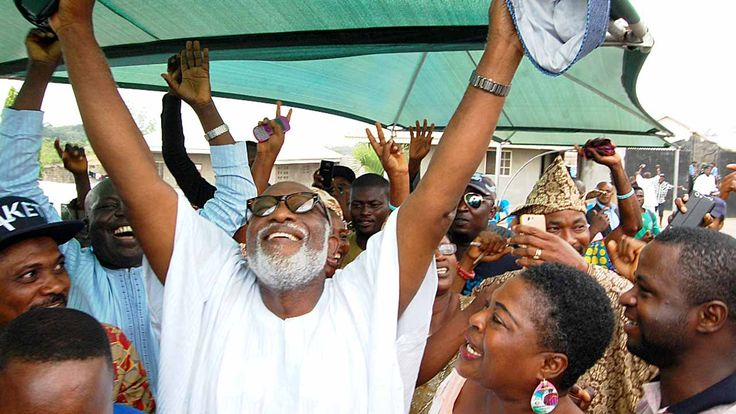 How Ondo election was won and lost   Akeredolu jubilitating yesterday among supporters PHOTO BY NAJEEM RAHEEM  The victory dance in Owo the hometown of the declared winner of the Ondo State Governorship election and All Progressives Congress (APC) candidate Mr. Rotimi Akeredolu started before the Independent National Electoral Commission (INEC) released the result on Sunday. The ancient town had been in festive mood since Saturday morning when it was obvious that all efforts to postpone the…
