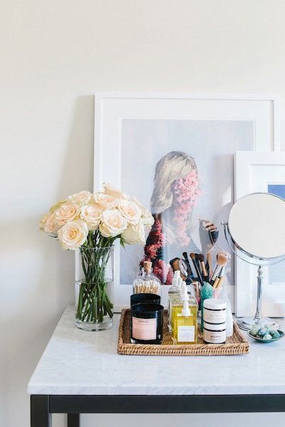A Feminine Vanity - How It Girls Display Their Beauty Products - Photos
