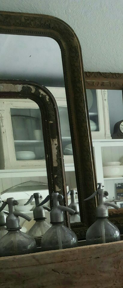 Old mirrors.