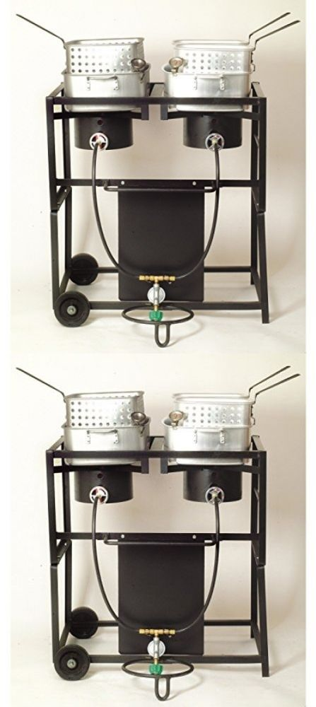 Deep Fryers 20674: Outdoor Three Basket Deep Fryer Cooker 3.75 Gallon Propane Gas New Free Shipping -> BUY IT NOW ONLY: $199.92 on eBay!