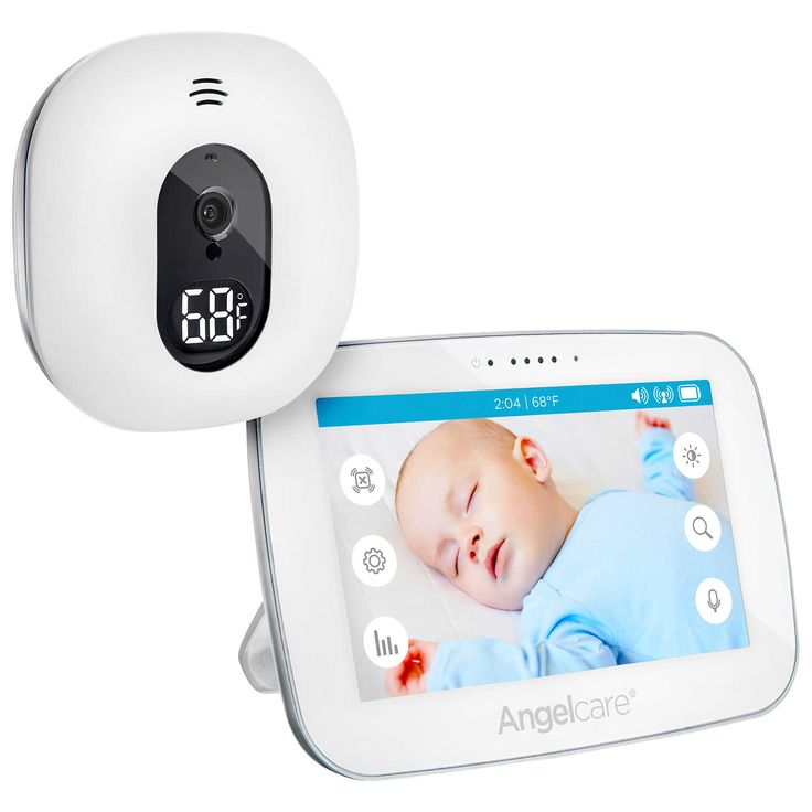 """Angelcare® AC510 5.0"""" Touchscreen Video and Sound Monitor"""