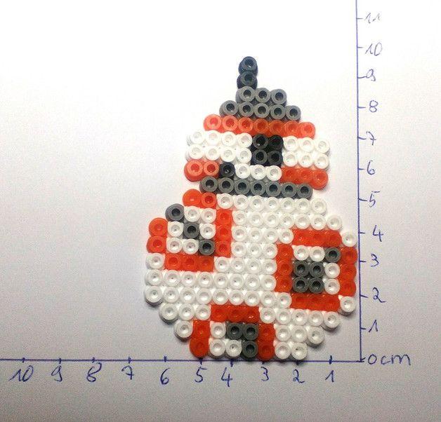 BB-8 Star Wars:The Force Awakens hama beads by Astrid's Zauberstübchen