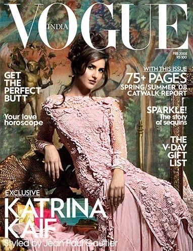 Katrina Kaif Vogue Magazine Cover