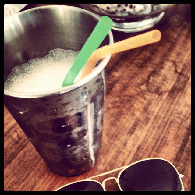 Vanilla malted shakes.