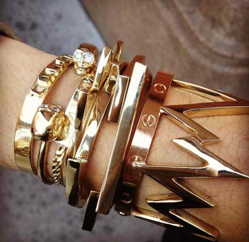 the cartier bangle is my fave :]