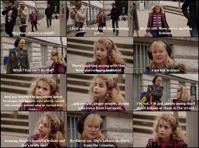 i just adore this little girl <3 Karen, please don't grow up!!