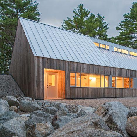 Google Image Result for http://static.dezeen.com/uploads/2012/10/dezeen_Moore-Studio-by-Omar-Gandhi_sq7.jpg. I like the contrast between the metal roof and the wood walls
