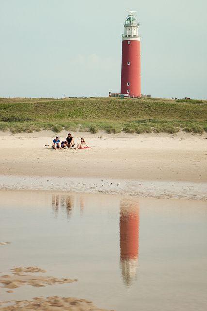 Texel Island Lighthouse by Itziar Aio
