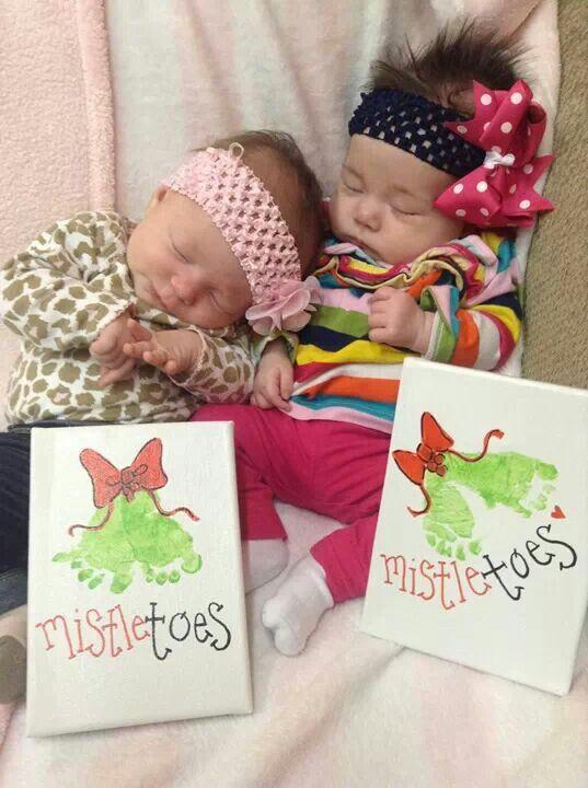 25 Unique Mistletoe Footprint Ideas On Pinterest