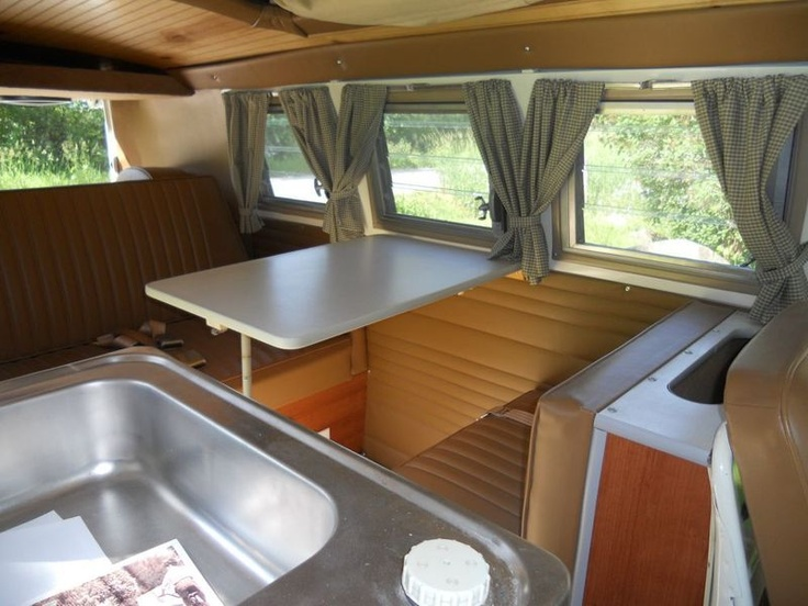 Castle Used Cars >> I like how the curtains are drawn back between each window | Volkswagen bus, Vw camper ...