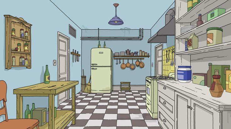 Bob S Burger Kitchen By Trevor Simonsen Tilo Candido
