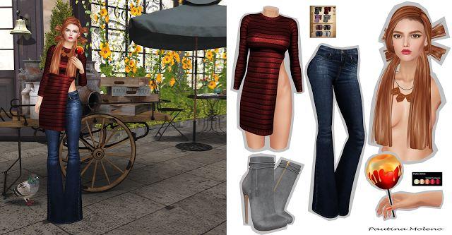 Spiderweb Second Life: ArisAris/B&W + Essenz + ANALOG DOG + Hello Dave