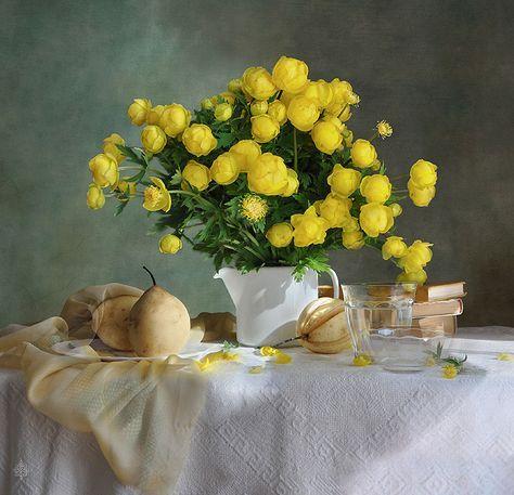 #still #life #photography • photo: купавки | photographer: Vera Ivanova | WWW.PHOTODOM.COM