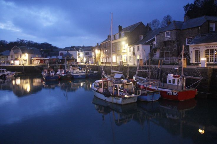 Evening at #Padstow harbour