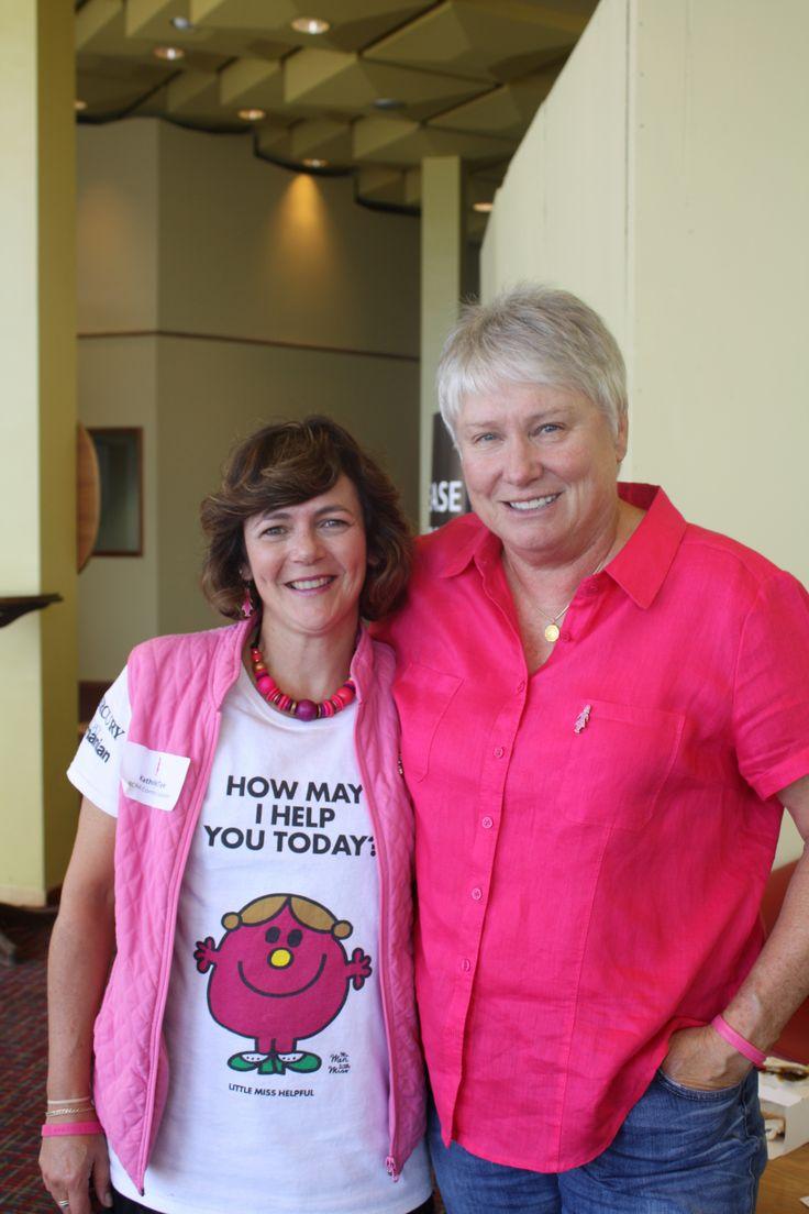 Raelene Boyle & Kathra McTye | BCNA Information Forum | Hobart, TAS, 2014