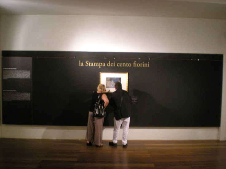 Allestimento mostra Rembrandt, Trieste