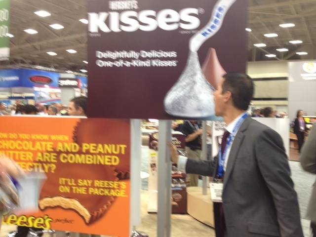 Are there HersheysKisses big enough to satisfy