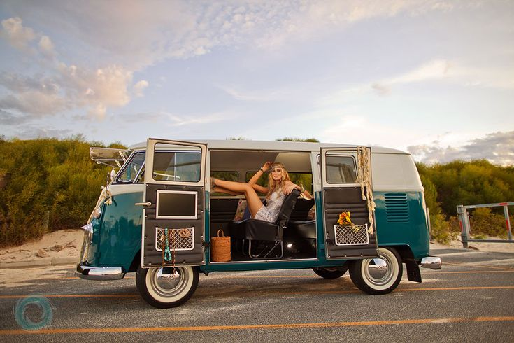You know I love a van...especially a hippie one.. :)