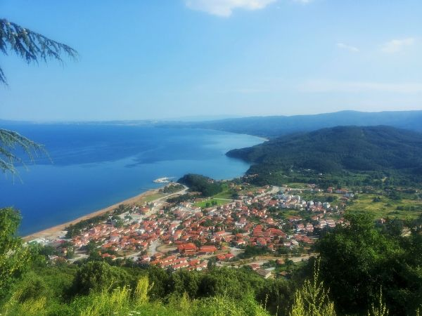 Beautiful landscape of Stratoni, eastern Halkidiki