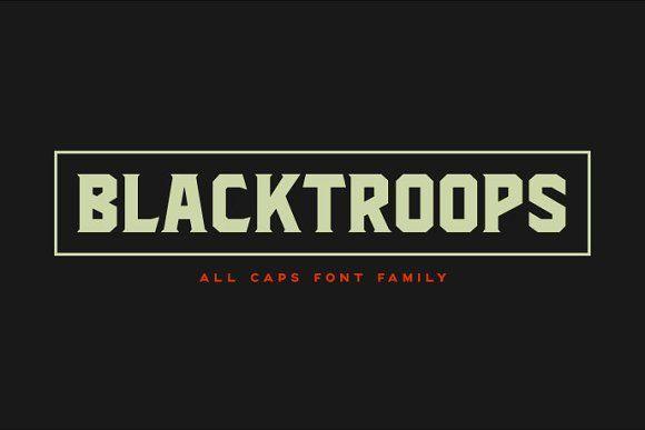 Blacktroops Family by Mikrojihad on @creativemarket