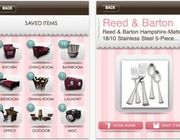 WeddingScan iPhone App.  Register any item, any store.