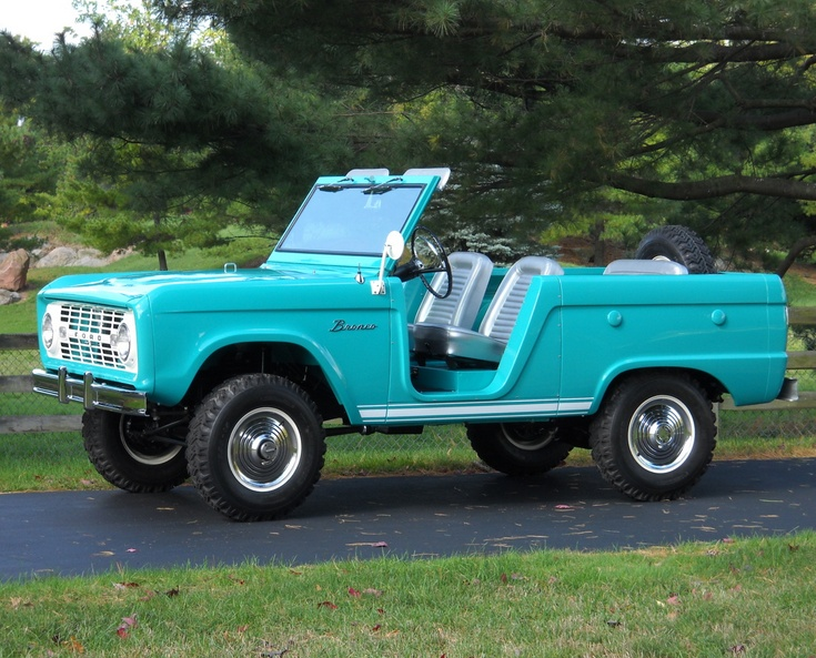Restored Early Ford Bronco